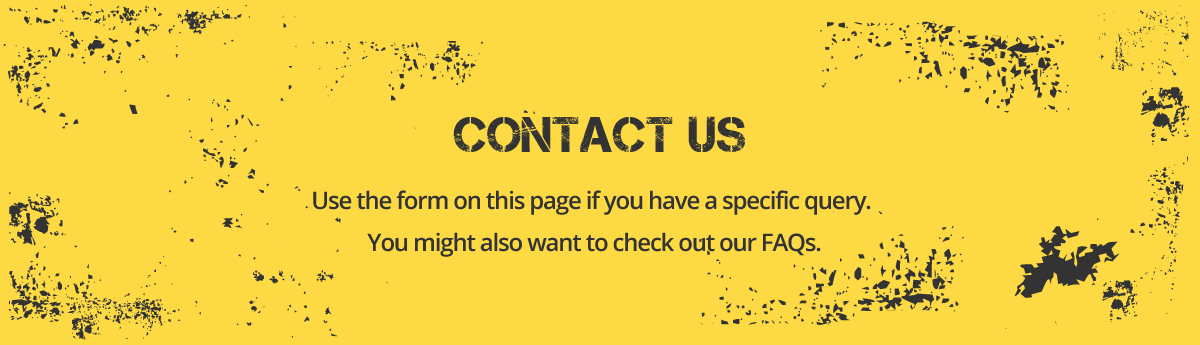 Contact us using the form on this page, or by giving us a call.