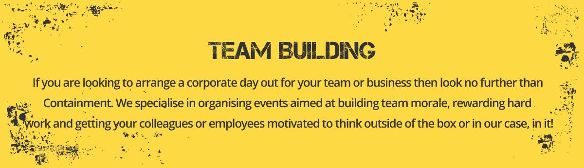 Team Building Activities in London.